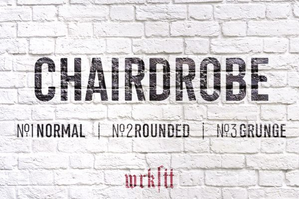 Chairdrobe Font